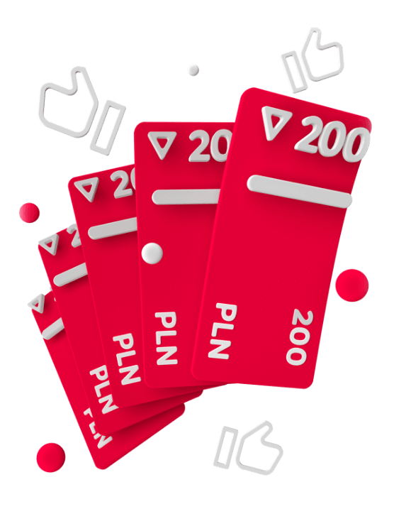 Polecaj faktoring online od Monevii i odbierz 200zł za każdego klienta
