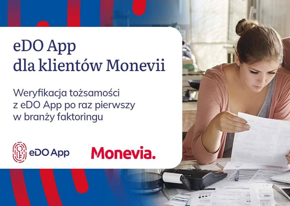 Monevia wdrożyła weryfikację tożsamości z wykorzystaniem eDO App. Fintech stawia na najnowocześniejsze technologie.